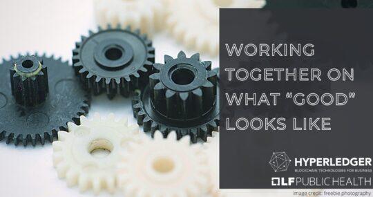 Interlocking gears working together
